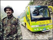 Pakistan-controlled Kashmir's peace bus