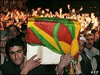 Funeral in Semdinli