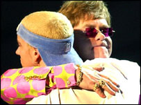 Sir Elton John and Eminem