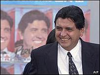 Ex presidente peruano Alan Garc�a