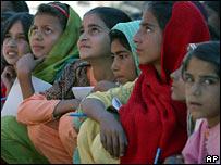 Schoolchildren in Muzaffarabad, Pakistan