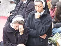 Nuns in prayer