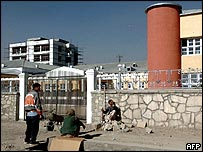 Parliament building in Kabul