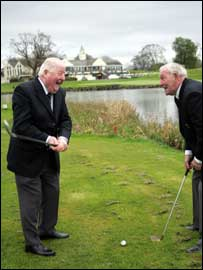 Norman Drew and Christy O'Connor were Ryder Cup team-mates in 1959