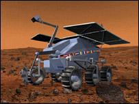 Diseño de una sonda europea llamada ExoMars