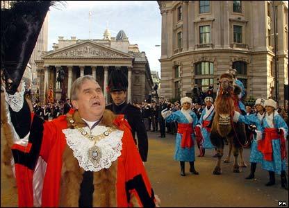 New Lord Mayor David Brewer