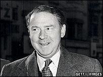 Labour leader Hugh Gaitskell