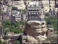 Rock Palace, Sanaa, restored in 2005