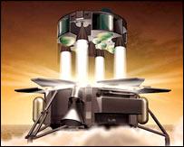 Concept of sample return from Mars (Esa)