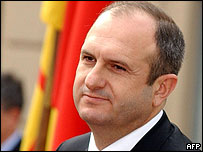Macedonian Prime Minister Vlado Buckovski