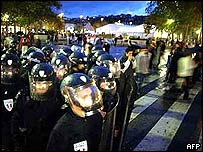 Police in Lyon
