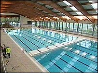 bbc news uk england southern counties olympic pool sports centre opens