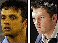 Captains Rahul Dravid and Graeme Smith will lock horns