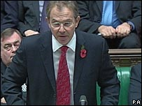 Mr Blair in House of Commons
