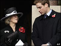 Camilla, Duchess of Cornwall and Prince William