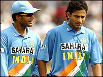 Sourab Ganguly and Irfan Pathan