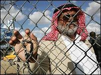 Палестинец в секторе Газа