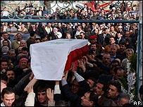 Moustapha Akkad's funeral