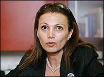 Gisele Khoury of Al Arabiya