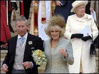 Prince Charles, Camilla and the Queen