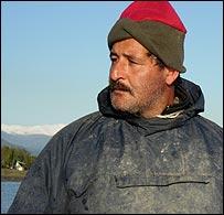 Caspian fisherman Nazagha Razania