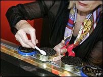 Caviar shop