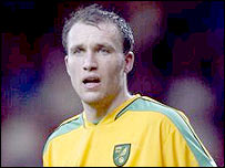 Norwich striker Dean Ashton