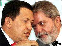 Ch�vez y Lula