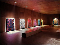 The Upper Room by Chris Ofili