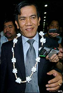 Burmese Foreign Minister Nyan Win