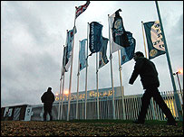 Workers at MG Rover's Longbridge plant