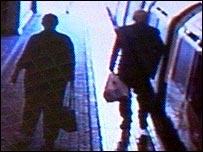 CCTV still on the Tube