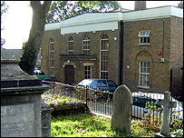 The former St Mary's Church school, Walthamstow