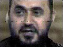 Iraqi government handout photograph of Abu Musab al-Zarqawi