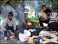 Homeless Cape Verdeans in Lisbon