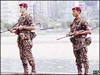 Brazilian soldiers (archive)
