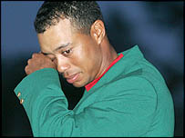 An emotional Tiger Woods dedicated his latest major to his ill father Earl