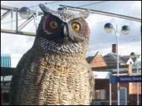 Replica owl