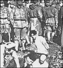 Chinese prisoners in Nanjing