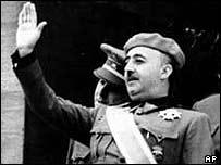 General Francisco Franco, en el primer Desfile de la Victoria, 1939