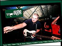 Arctic Monkeys screengrab