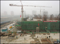 Construction site in Beijing 26/10/05