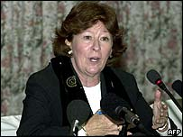 UN High Commissioner for Human Rights Louise Arbour