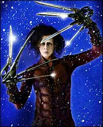 Sam Archer as Edward Scissorhands