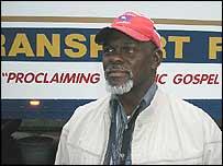 Trucker James Shepard