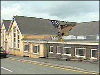 Theatr Powys after the fire