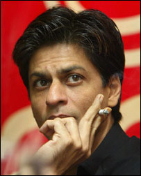 Bollywood superstar Shah Rukh Khan