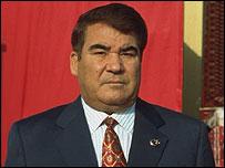 Turkmenistan President Saparmyrat Niyazov