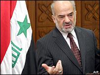 Iraq's Prime Minister Ibrahim Jaafari