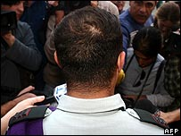 Acquitted Israeli officer speaks to media